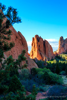 Shots In The Garden Of The Gods Park